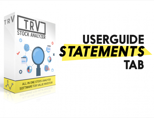 "[User Guide] ""Statements"" Tab"